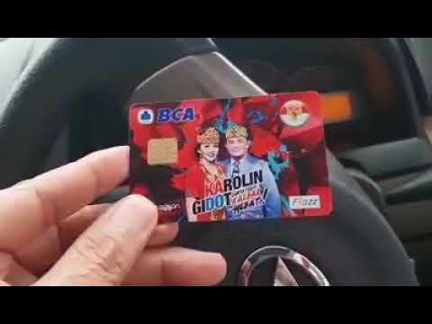 Viral kartu flazz bca Karolin Gidot 2018