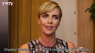 Charlize Theron at the 23 Annual Hollywood Film Awards