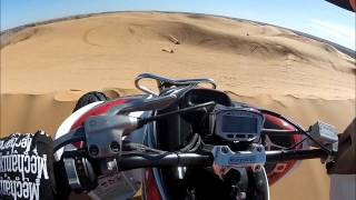 Raptor 700 at Little Sahara Sand Dunes