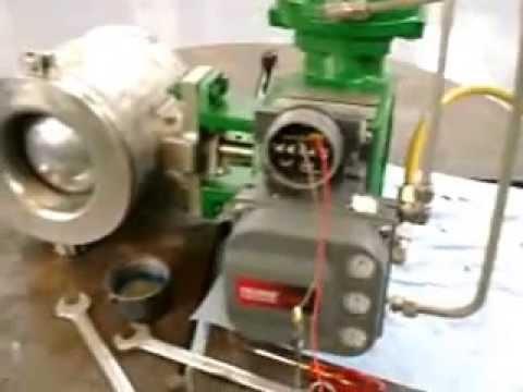 Stroke checking an instrumentation valve