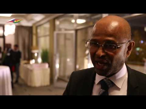 Interview with Etienne Samoura from Guinea African Trust 2016 Hotel Jalta