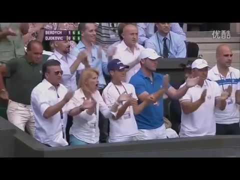 Tomas Berdych VS Novak Djokovic Highlight (Wimbledon) 2010 SF