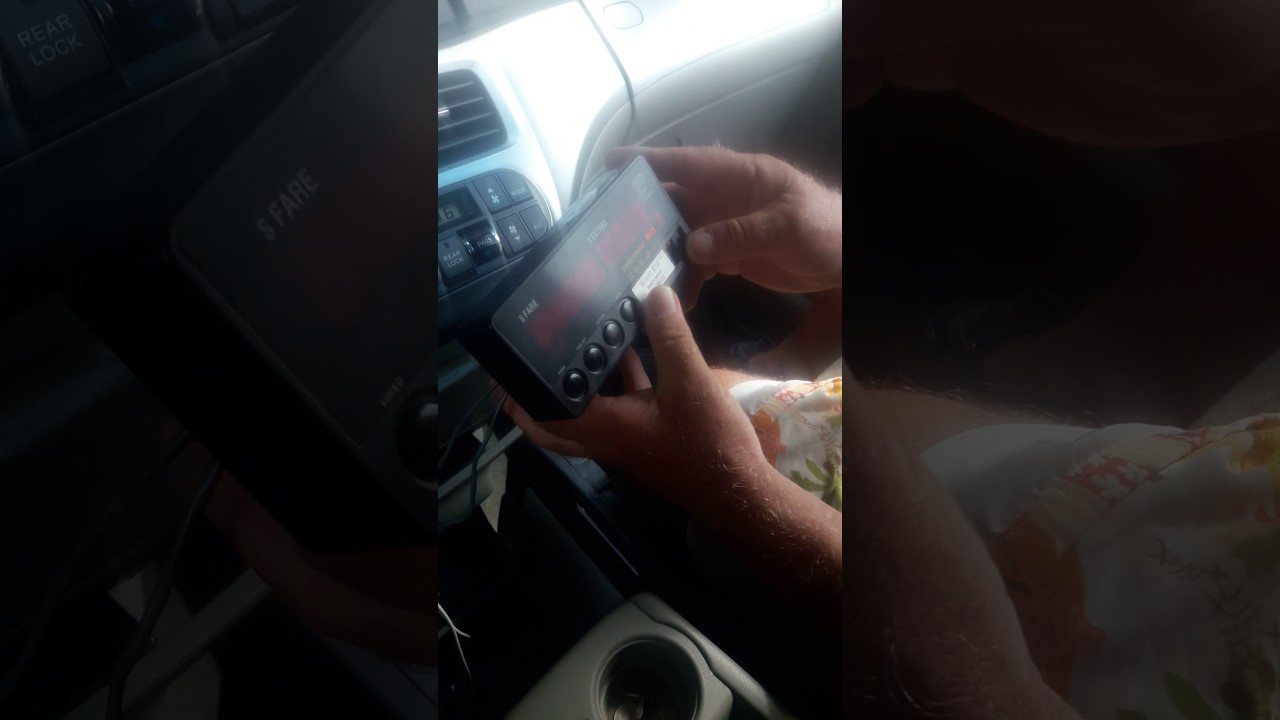 Setting up cenrodyne 610 taxi meter instructions