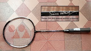 Yonex GR 303 racquet (Saina Nehwal special edition)