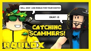 CATCHING SCAMMERS IN ROBLOX ASSASSIN [ PART 3 ]