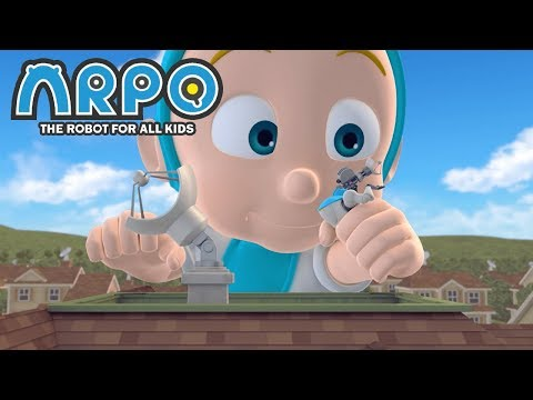 ARPO The Robot For All Kids - Plant vs. Robot | 에피소드를보고 | 어린이를위한 만화 Videos For Kids