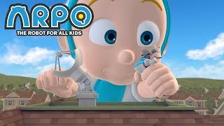 Download ARPO The Robot For All Kids - Plant vs. Robot | | 어린이를위한 만화 Videos For Kids Mp3 and Videos
