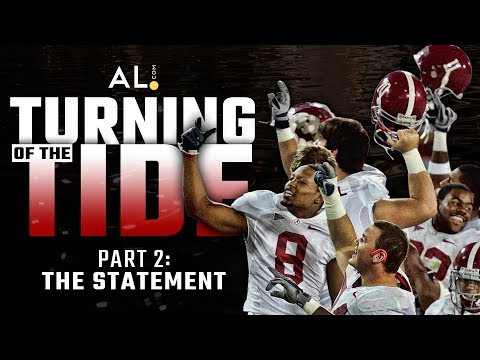 Turning of the Tide | Part 2: The Statement; How beating Clemson, Georgia launched Alabama's dynasty