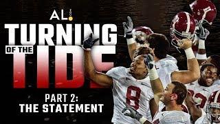 Turning of the Tide   Part 2: The Statement; How beating Clemson, Georgia launched Alabama's dynasty