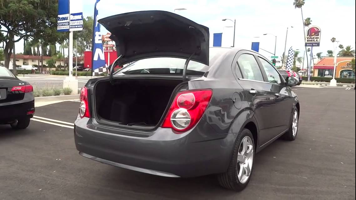2013 Chevrolet Sonic Los Angeles, Pasadena, South Bay, Culver City, Santa Monica, CA 14561 - YouTube