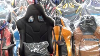 Обзор игрового  кресла с  RGB-подсветкой Aerocool AC220 RGB-B