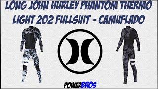 Long John Hurley Phantom Thermo Light 202 Fullsuit - Camuflado by PowerBros f63e8ebb4c1