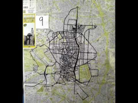madrid walking map