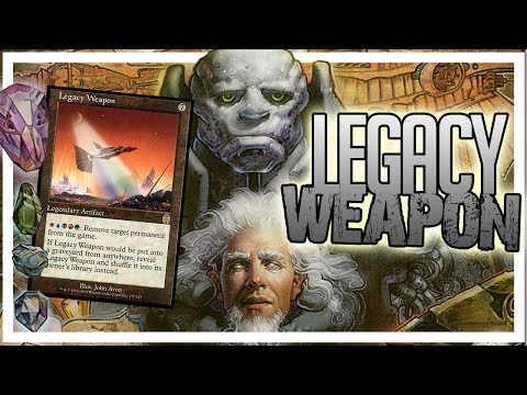 What Was Urzas LEGACY WEAPON??  MTG Lore