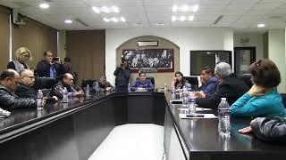 Reunión del Consejo Sindical y Social Permanente en el H. Congreso del Estado de Sonora
