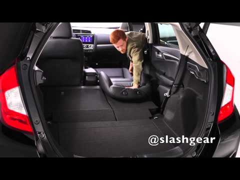 2015 Honda Fit cargo and rear-seat options
