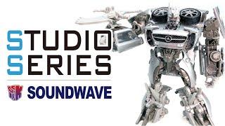 Studio Series 51 SOUNDWAVE 電影工作室 音波【KL變形金剛玩具分享503】