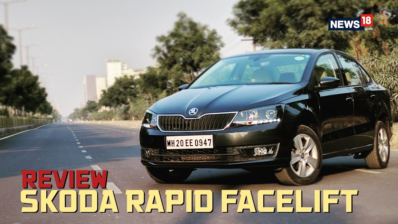 Skoda Rapid Facelift Review: Big on Style and Presence - News18