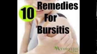 10 Home Remedies For Bursitis