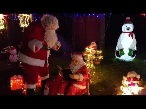 Weihnachtsmann besucht Amelinghausen