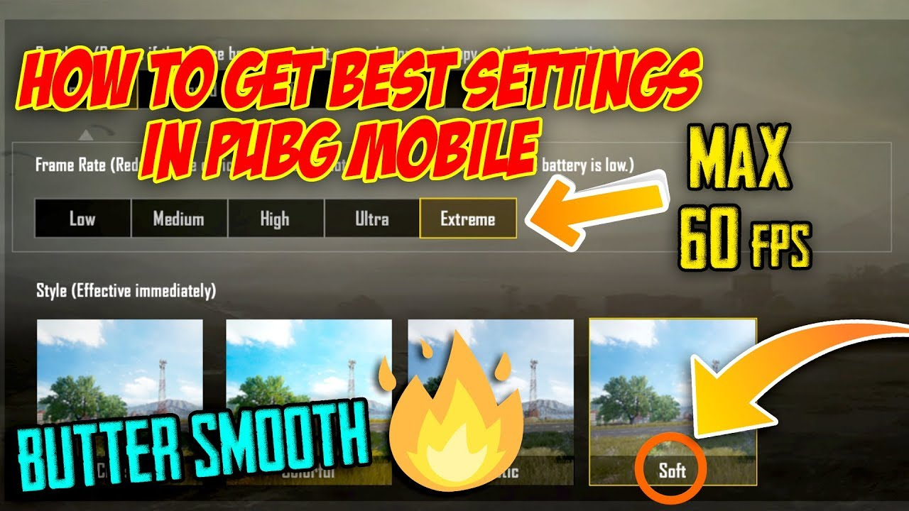 Best PUBG Mobile Settings For Lower End Phones