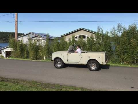 1963 International Harvester Scout Barn Find - first drive
