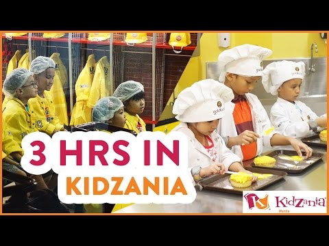 What to do in KidZania Manila within 3 hours? (Cooking School, Fire Station, Vet Clinic and more)