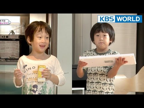 Seojun Decides To 'WASH' A Dirty Keyboard..UH OH. [The Return Of Superman/2018.03.18]