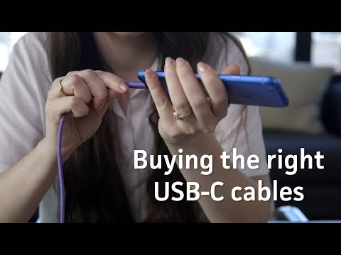 How To Buy The Right USB-C Cables