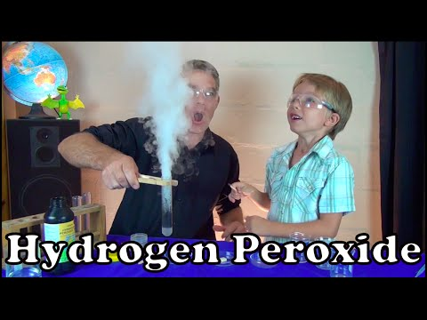 Hydrogen Peroxide Decomposes Using A Catalyst | Make Science Fun