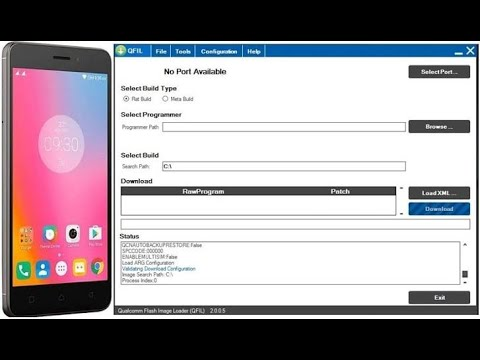 How To Flash Lenovo K6 Note Stock ROM with QPST?