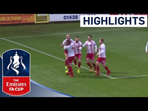 Stevenage Put Five Past Swindon Town!   Highlights   Emirates FA Cup 2017/18