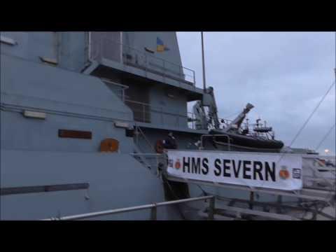 Offshore Patrol Vessel HMS Severn Belfast 2017