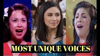 12 UNIQUE VOICES IN PHILIPPINE MUSIC