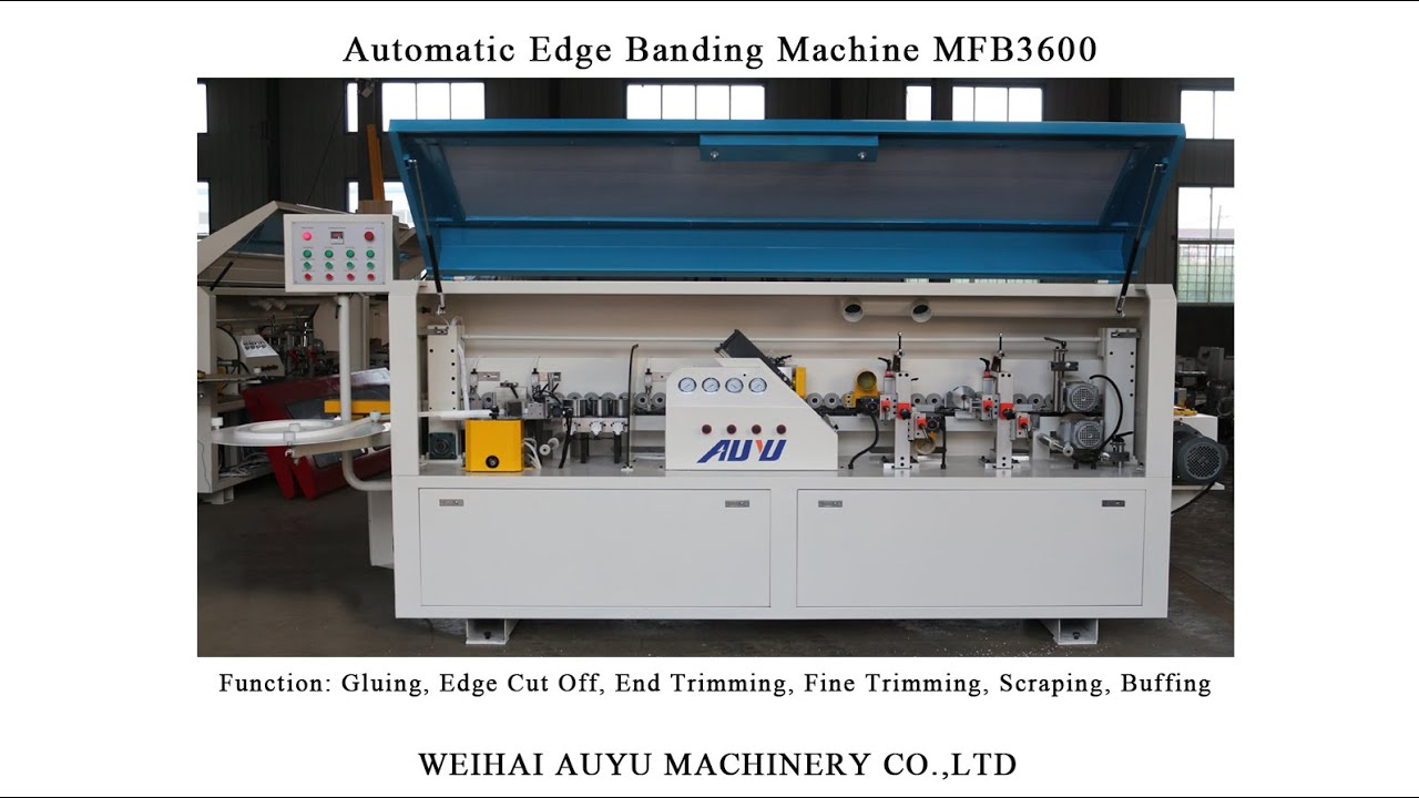 Automatic Edge Banding Machine MFB3600 / edge bander