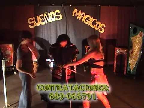 MAGIA SUEÑOS MAGICOS EVASION CUERDAS