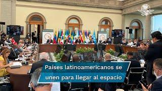 Seis naciones firmaron el acuerdo mediante el cual se busca crear la Agencia Espacial Latinoamericana y Caribeña; se espera que en septiembre se logre concretar la iniciativa