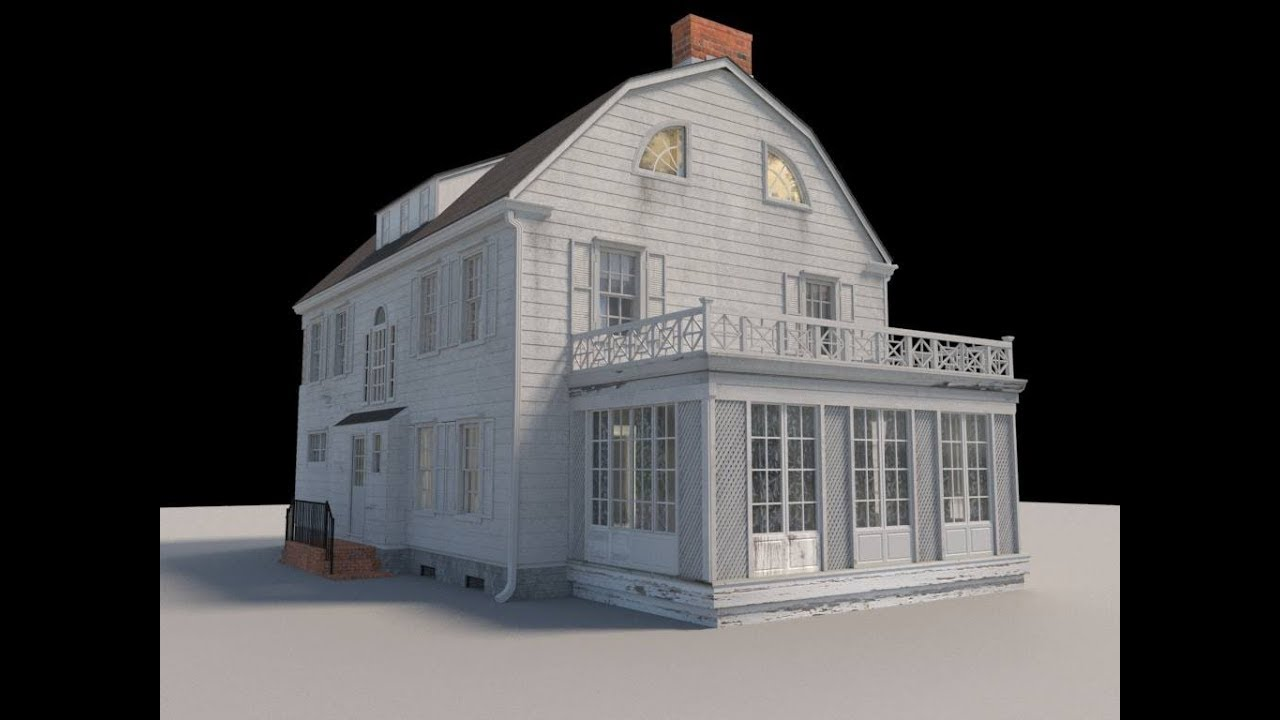 Amityville Horror House Modeled In 3d For Virtual Reality Youtube