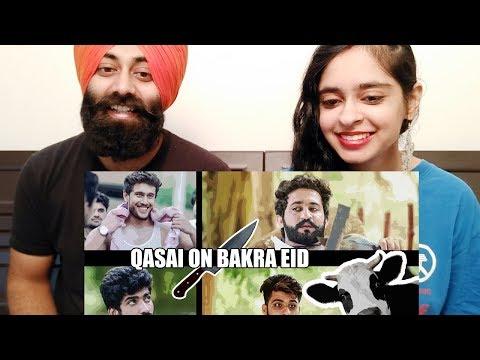 Indian Reaction On Qasai On Bakra Eid By Our Vines & Rakx Production   PunjabiReel TV