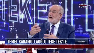Teke Tek - 3 Haziran 2018 (Temel Karamollaoğlu, Doğu Perinçek)
