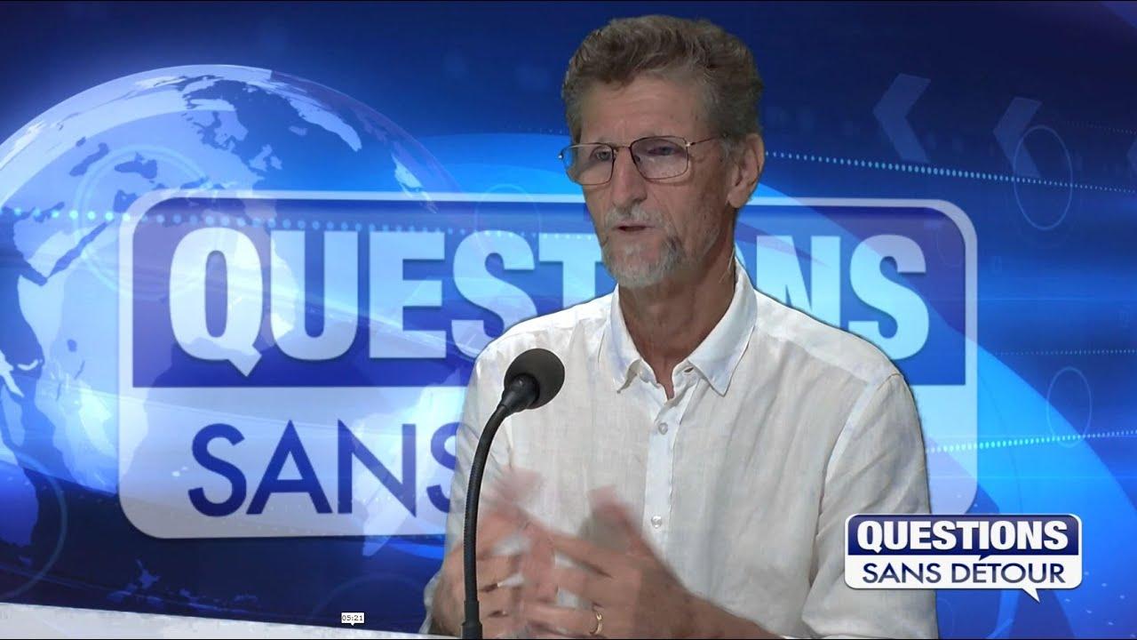 BRUDEY HILAIRE de la FEDERATION SOCIALISTE GP est l'invité de QSD sur ETV