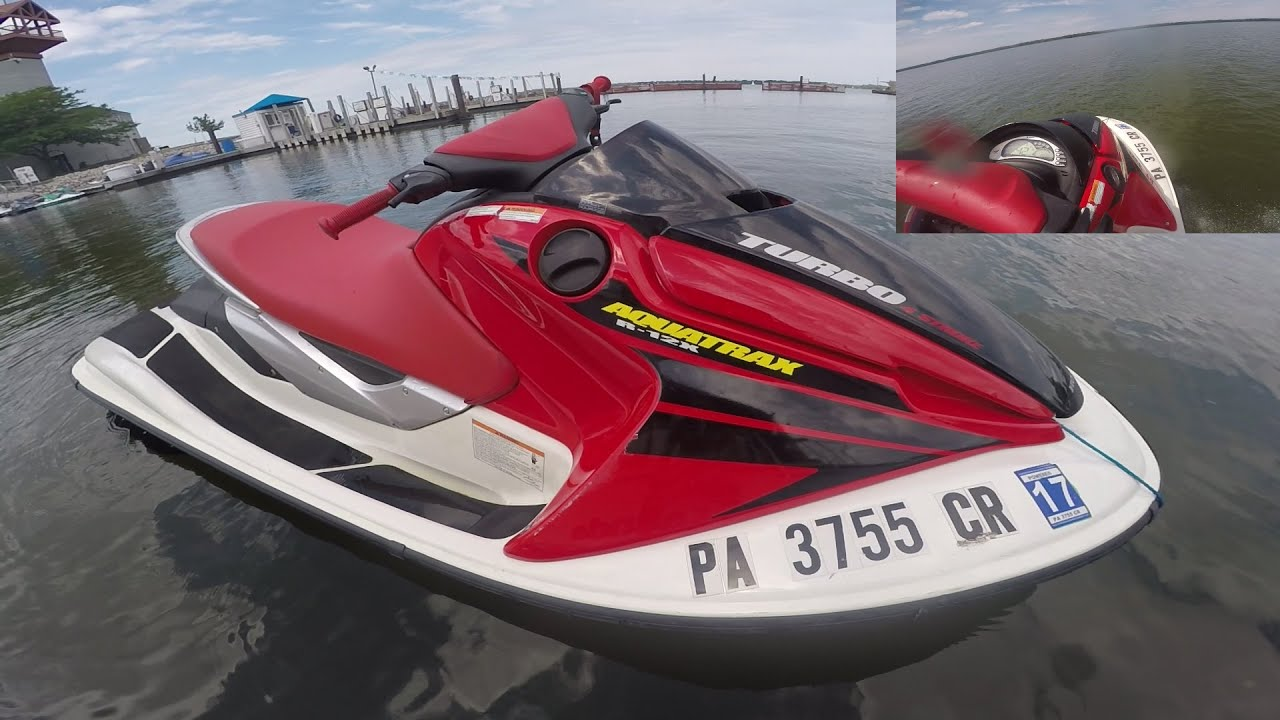 honda   turbo jetski pov erie joyride rip  horsepower youtube