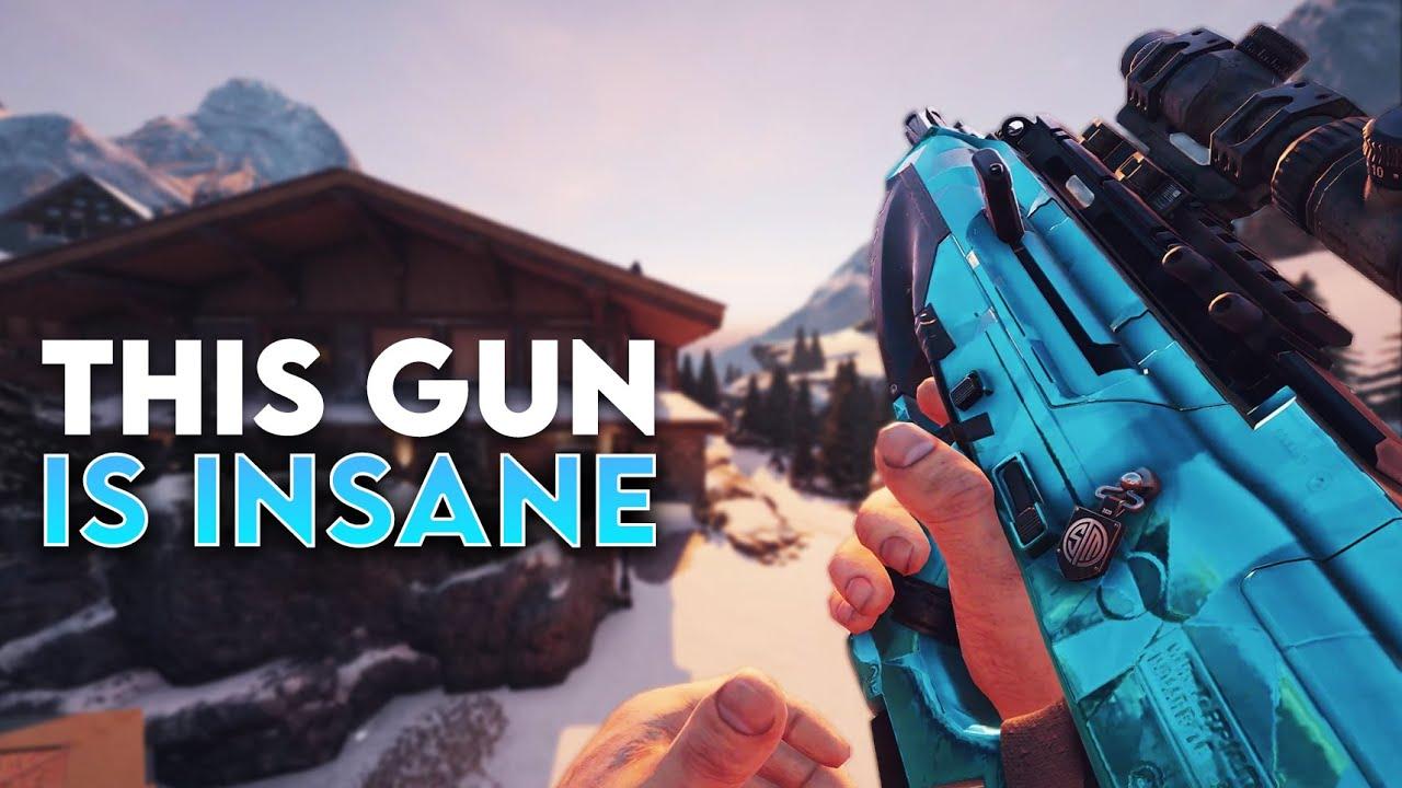 This Gun is INSANE (Stream Highlights) - Rainbow Six Siege
