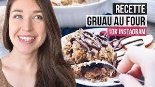 Concours 10K Instagram + Gruau au four dattes et patate douce | RECETTE SANTÉ
