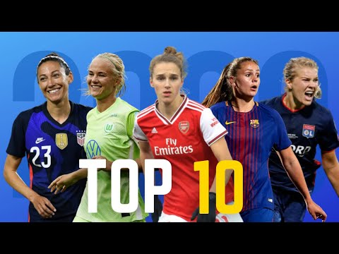 Top 10 Attackers in Women's Football 2020