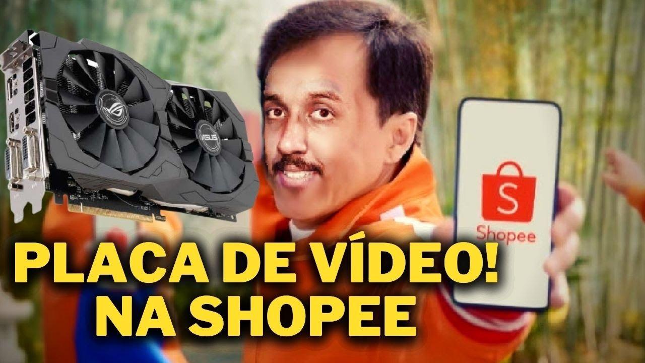 PLACA DE VÍDEO CUSTO BENEFICIO NA SHOPEE !? ( GTX 1050 R$ 380 )