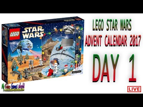 World Of Tanks Advent Calendar 2020.How To Assemble Lego Star Wars Advent Calendar 2017 Day 1 Youtube