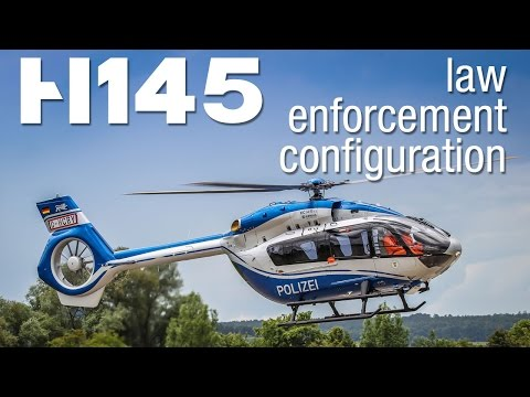 First H145 in law enforcement configuration