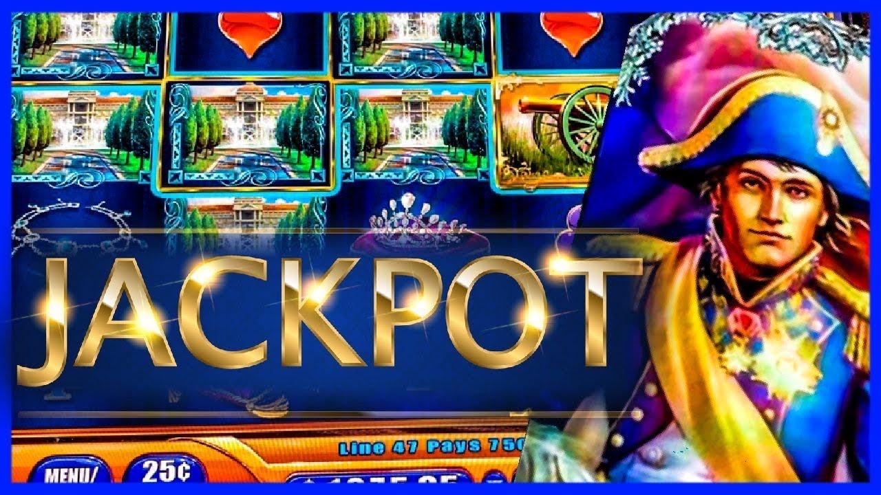 NAPOLEON & JOSEPHINE SLOT/ HIGH LIMIT/MAX BETS/ LIMITE ALTO/ JACKPOTS