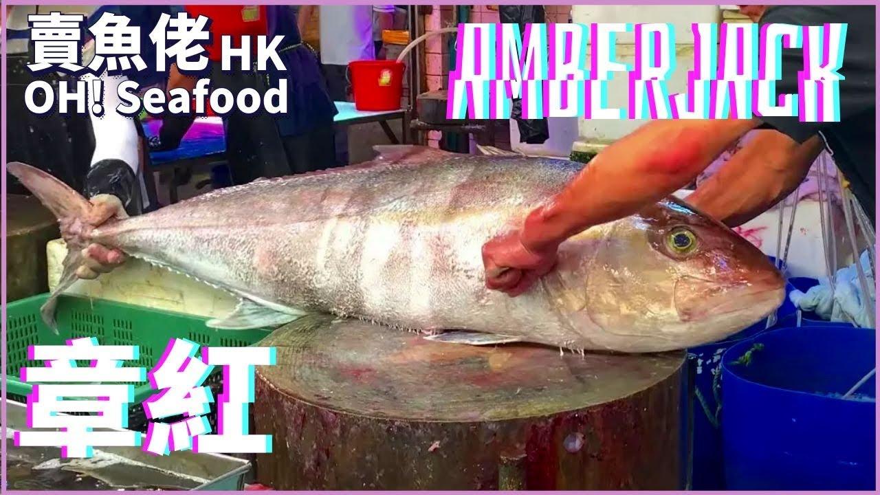 跟人一樣高的章紅魚 油甘魚 鰤魚 $60/斤|【賣魚佬 OH! Seafood HK】|西環魚王